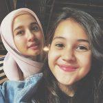 6 Momen Kedekatan Sandrinna Michelle dan Laudya Cynthia Bella