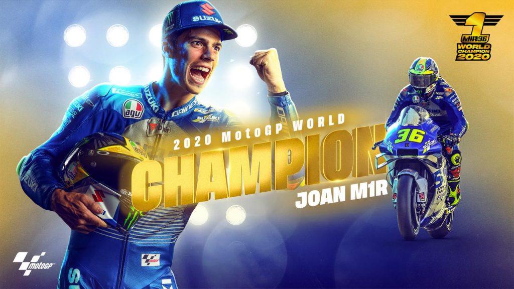 Joan Mir Juara Dunia